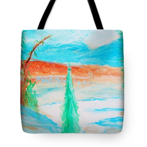 Cool Landscape Tote Bag