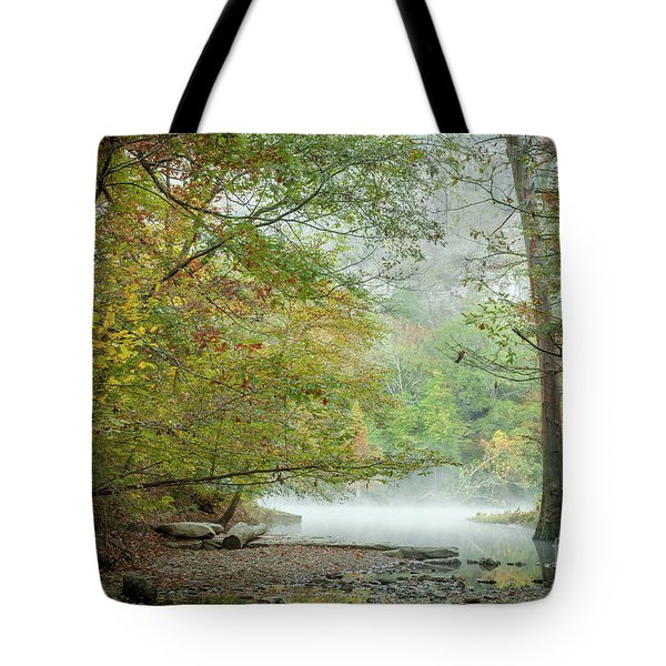 Cool Morning Tote Bag