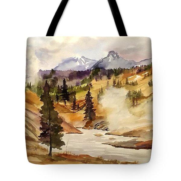 Cool Morning Tote Bag