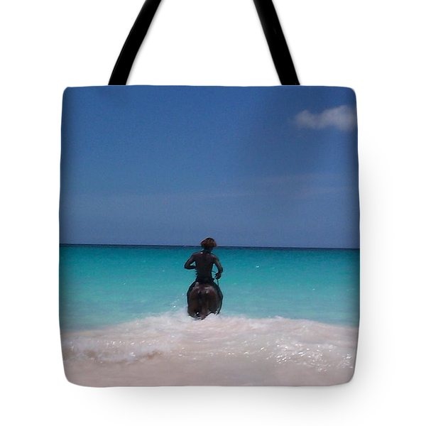 Tote Bag featuring the photograph Cool Off Man by Mary-Lee Sanders