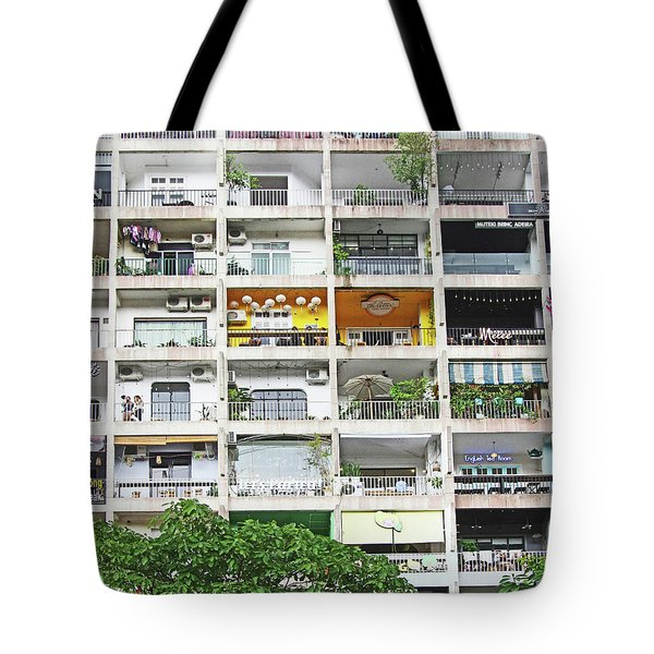 Tote Bag featuring the photograph Cool Shops And Bars by Gregg Cestaro