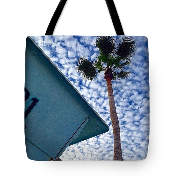 Cool Sky.  Tote Bag
