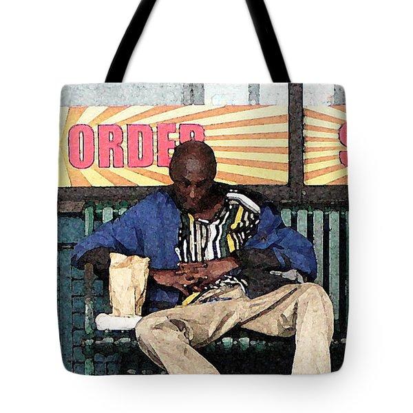 Cool Snap Tote Bag by Joe Jake Pratt