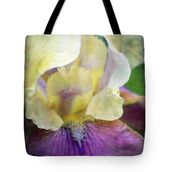 Cool Toned Purple Iris 0319 Idp_3 Tote Bag