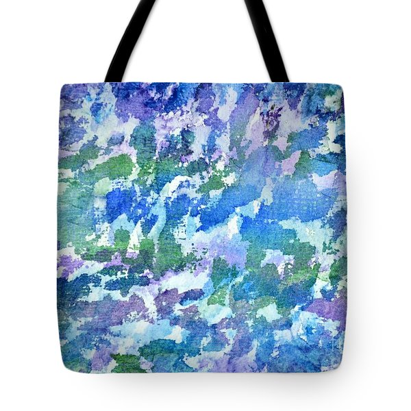 Cool Twilight Tote Bag by Holly York