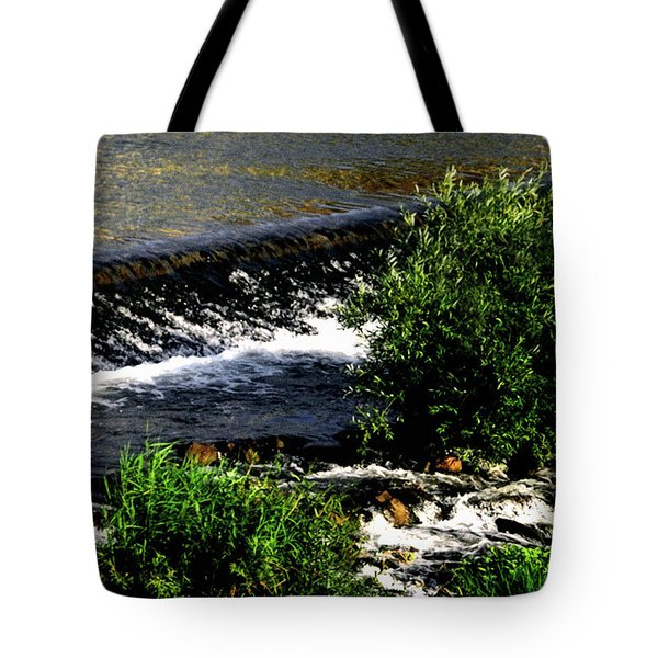 Tote Bag featuring the photograph Cool Waters by Gerlinde Keating - Galleria GK Keating Associates Inc