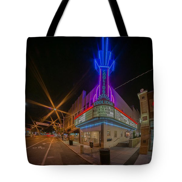 Coolidge Corner  Tote Bag