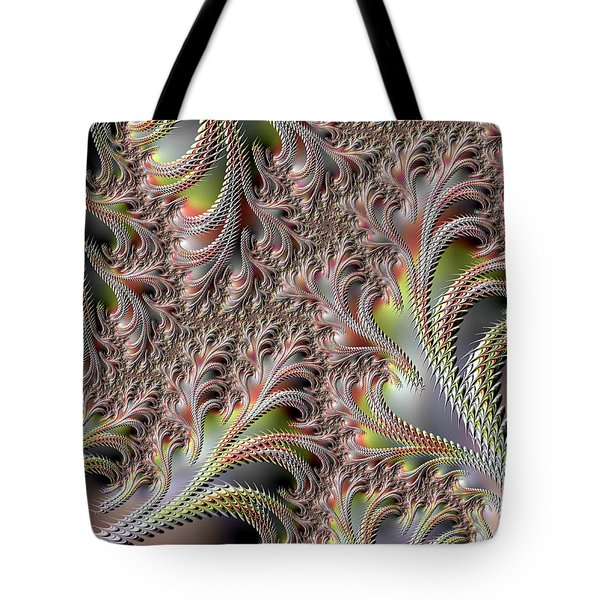 Tote Bag featuring the digital art Cooling Fans by Michele A Loftus