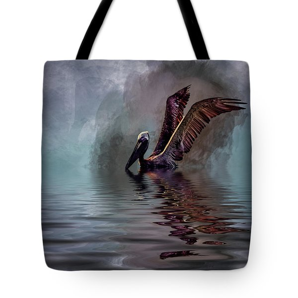 Cooling Off Tote Bag by Cyndy Doty