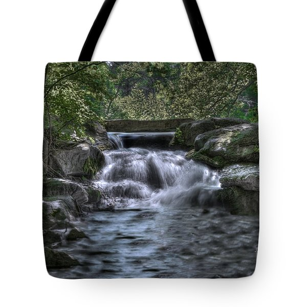 Tote Bag featuring the photograph Cooling Waters  by Tamyra Ayles
