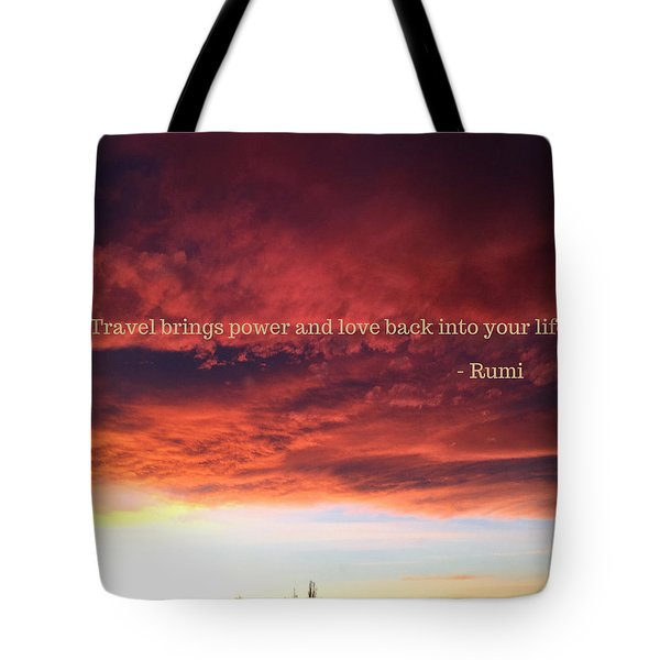 Cooma Sunset Tote Bag