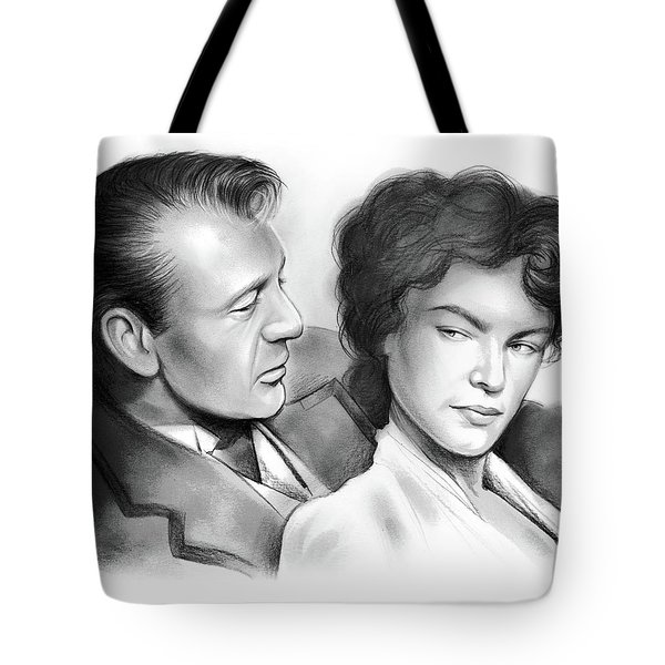 Cooper And Bacall Tote Bag