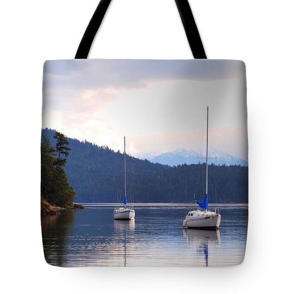 Cooper's Cove 1 Tote Bag by Randy Hall