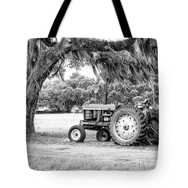 Coosaw - John Deere Parked Tote Bag