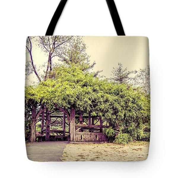Cop Cot - Central Park Tote Bag by Paulette B Wright