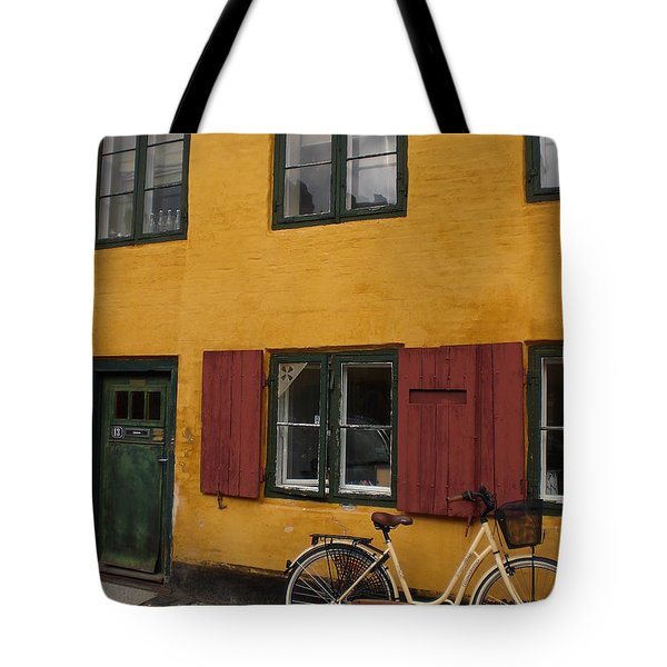 Copenhagen Tote Bag by Sabine Meisel