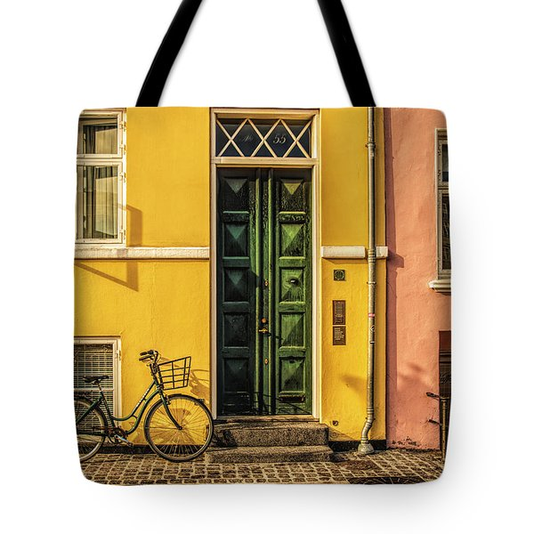 Copenhagen Transportation Tote Bag