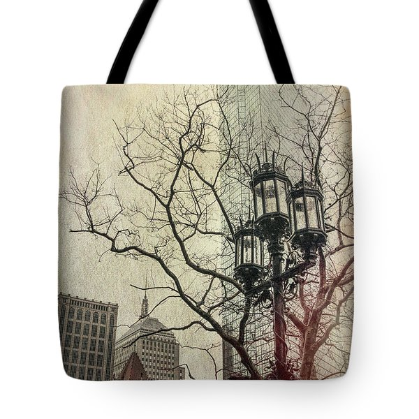 Tote Bag featuring the photograph Copley Square - Boston by Joann Vitali