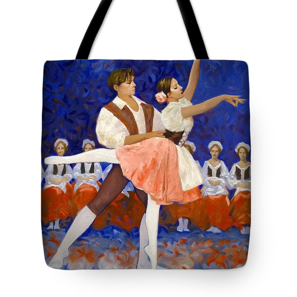 Coppelia Tote Bag by Kevin Lawrence Leveque
