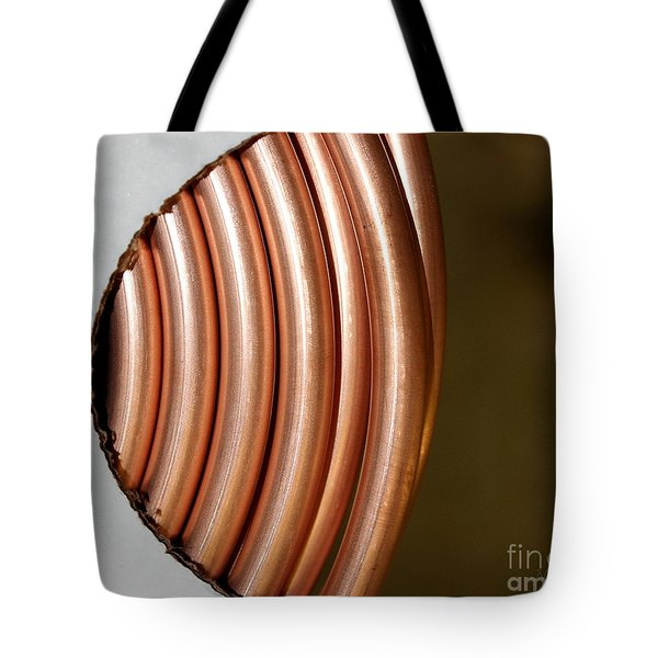 Copper Curves Tote Bag