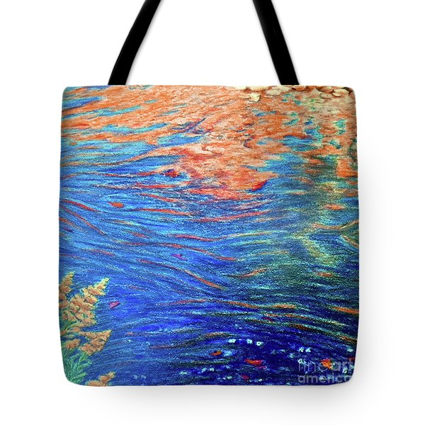 Copper Flow Tote Bag