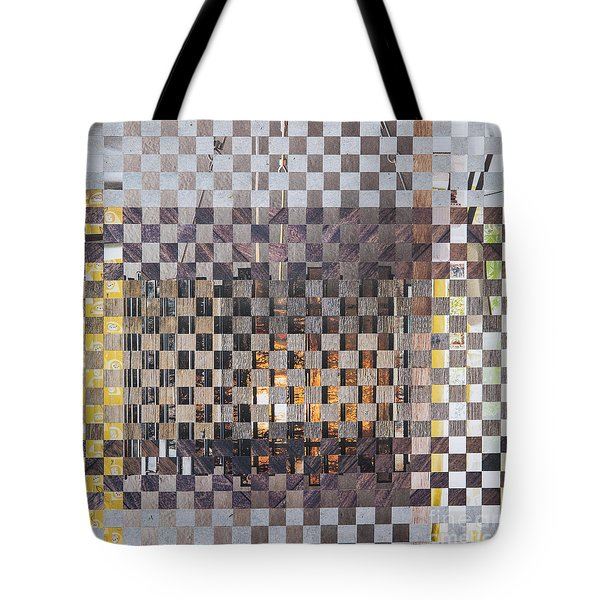 Tote Bag featuring the mixed media Copper Glow by Jan Bickerton
