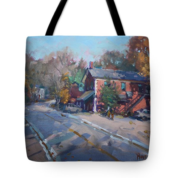 Copper Kettle Pub In Glen Williams On Tote Bag