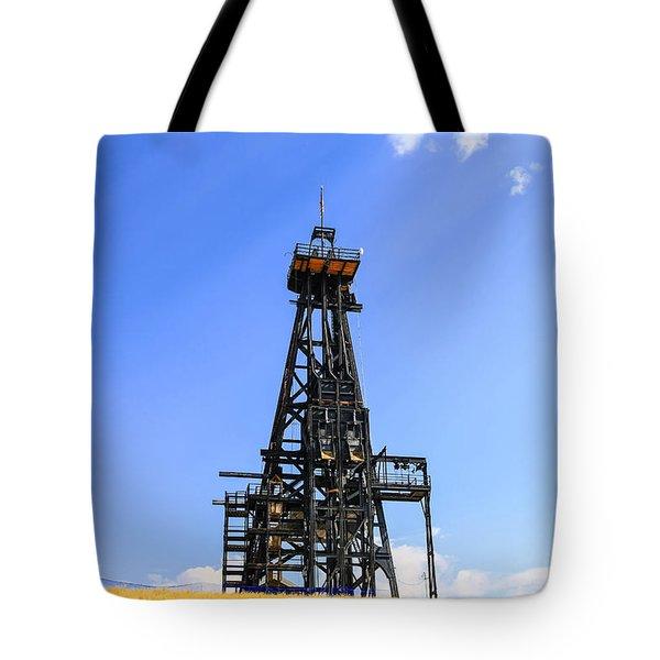 Copper Mine In Montana Tote Bag