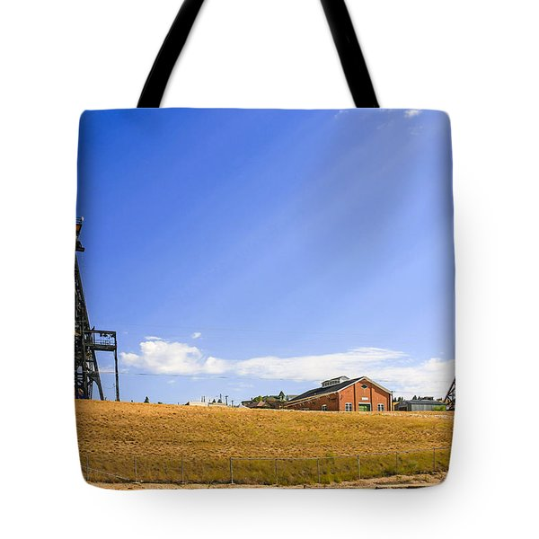 Copper Mining In Montana Tote Bag