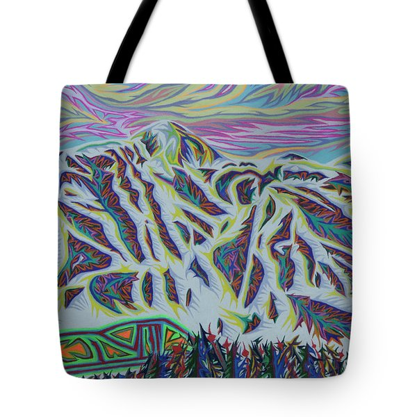 Copper Mountain Tote Bag by Robert SORENSEN
