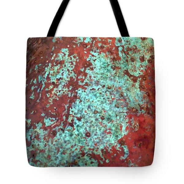 Copper Patina No. 22-1 Tote Bag