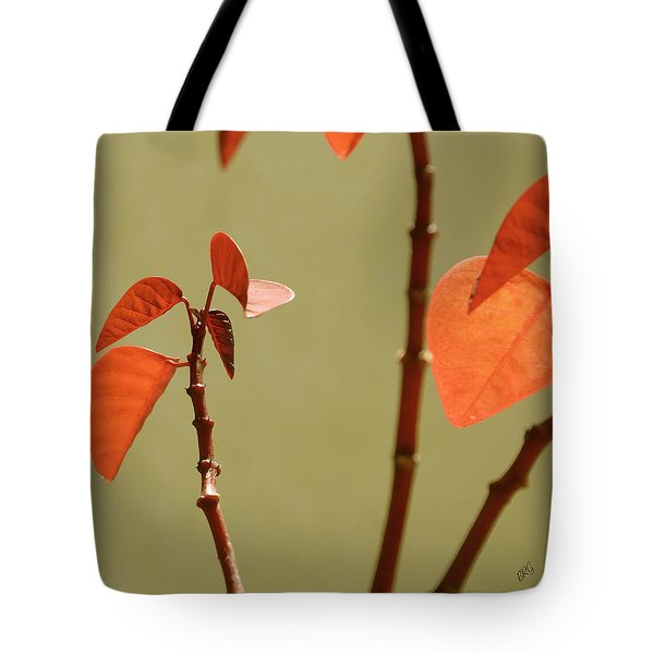 Tote Bag featuring the photograph Copper Plant 2 by Ben and Raisa Gertsberg