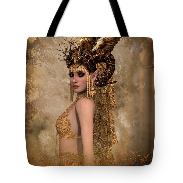 Copper Queen Tote Bag