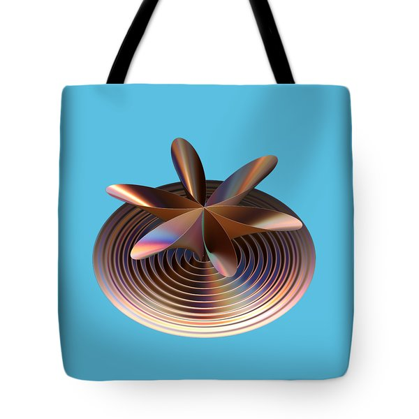 Copper Tones Tote Bag