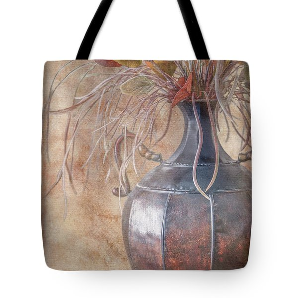 Copper Vase Tote Bag