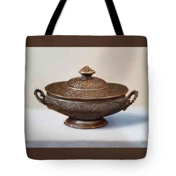 Copper Vessel Tote Bag
