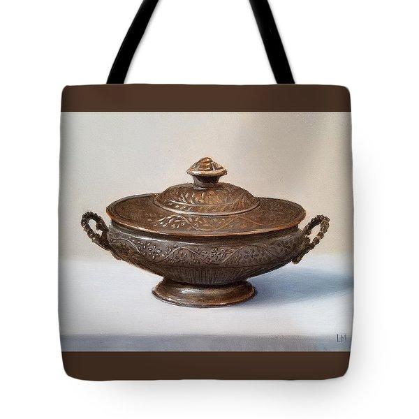 Copper Vessel Tote Bag