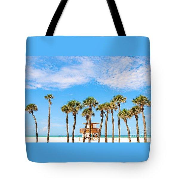 Tote Bag featuring the photograph Coquina Beach Anna Maria Island by Margie Amberge