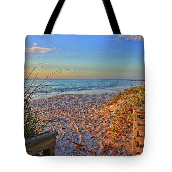 Coquina Beach By H H Photography Of Florida  Tote Bag by HH Photography of Florida