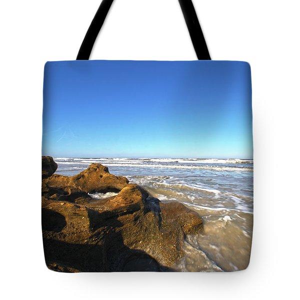 Coquina Beach Tote Bag