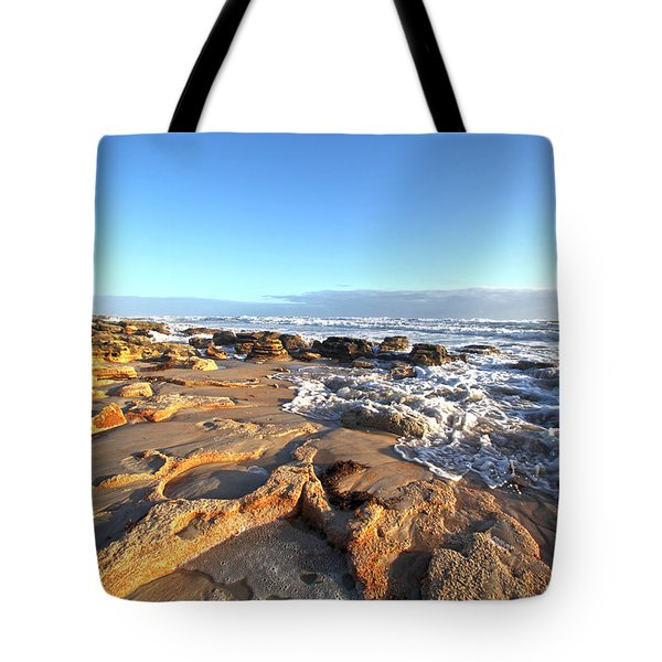 Coquina Carvings Tote Bag