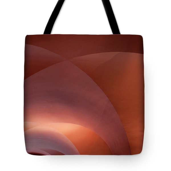 Coral Arched Ceiling Tote Bag
