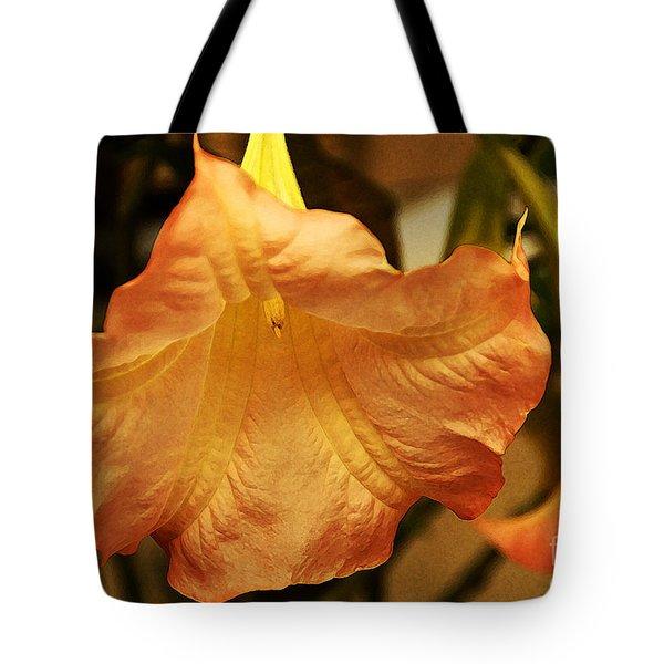 Coral Blush Tote Bag