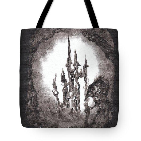 Coral Castle Tote Bag