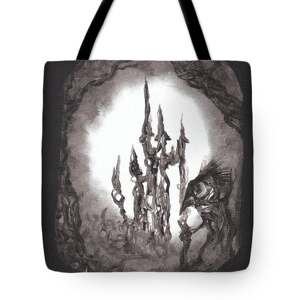 Coral Castle Tote Bag