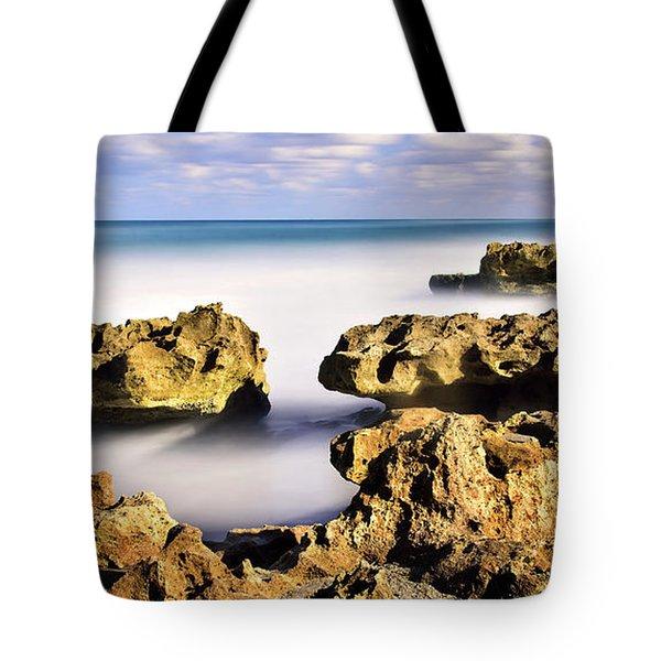 Coral Cove Seascape Tote Bag