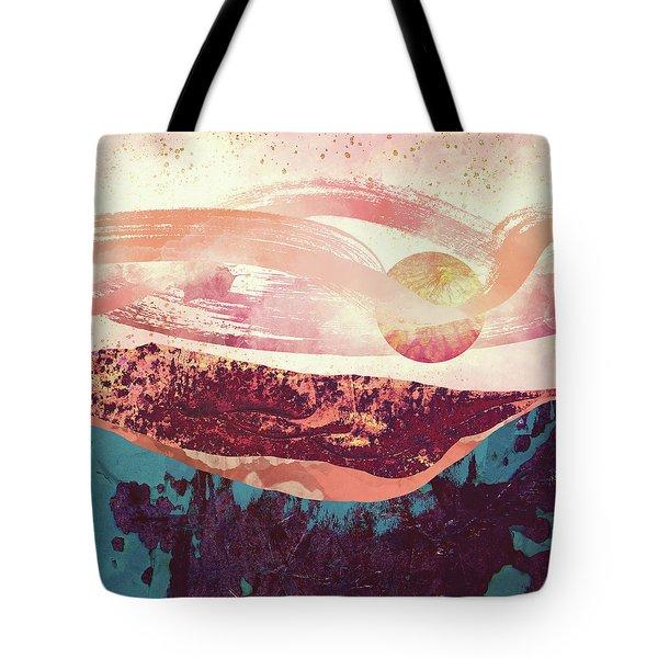 Coral Sky Tote Bag