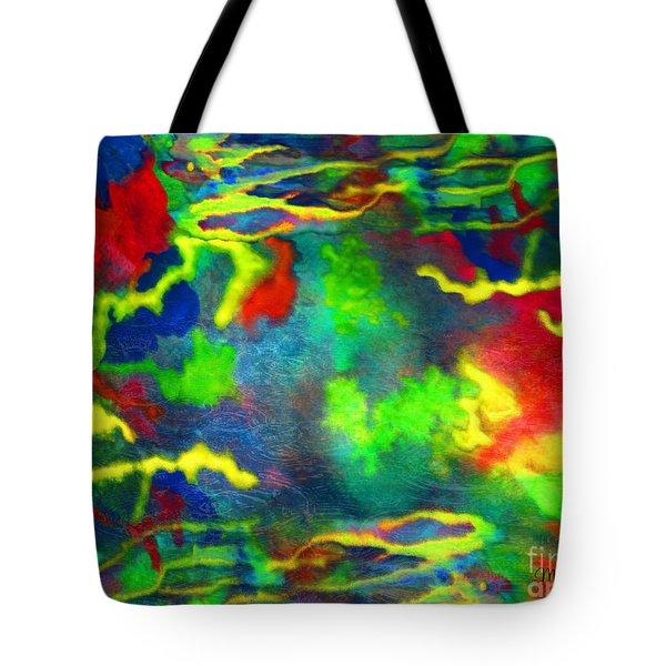Coral Tides Tote Bag
