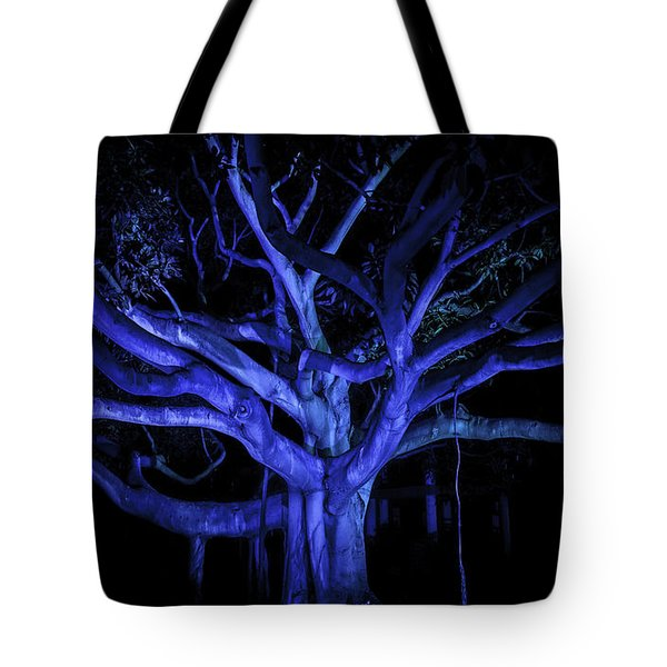 Coral Tree Tote Bag