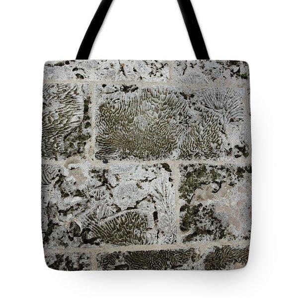 Coral Wall 205 Tote Bag